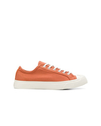 orange Segeltuch niedrige Sneakers von YMC