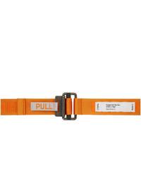 orange Segeltuchgürtel von Heron Preston