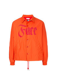 orange Shirtjacke