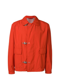 orange Shirtjacke von Fay