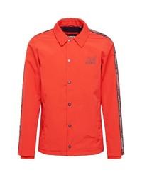 orange Shirtjacke von Superdry