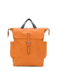orange Shopper Tasche aus Leder von Ally Capellino