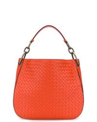 orange Shopper Tasche aus Leder von Bottega Veneta