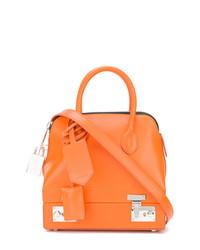orange Shopper Tasche aus Leder von Calvin Klein 205W39nyc