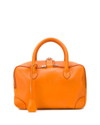 orange Shopper Tasche aus Leder von Golden Goose Deluxe Brand