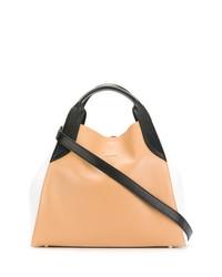 orange Shopper Tasche aus Leder von Lanvin