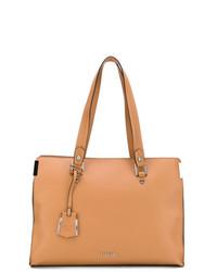 orange Shopper Tasche aus Leder von Liu Jo