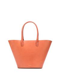 orange Shopper Tasche aus Leder von Mansur Gavriel