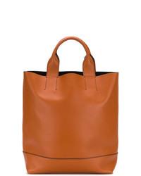 orange Shopper Tasche aus Leder von Marni