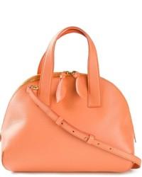 orange Shopper Tasche aus Leder von Moschino Cheap & Chic