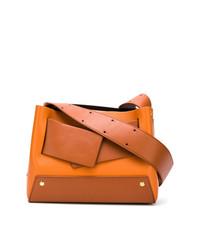 orange Shopper Tasche aus Leder von Yuzefi