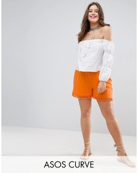 orange Shorts von Asos