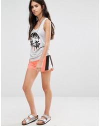 orange Shorts von Only
