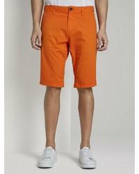 orange Shorts von Tom Tailor