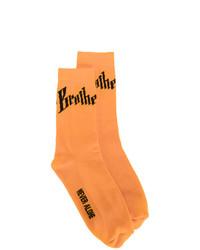 orange Socken von Blood Brother