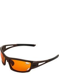 orange Sonnenbrille