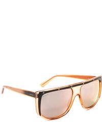 orange Sonnenbrille von Gucci