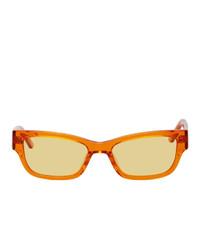orange Sonnenbrille von Han Kjobenhavn