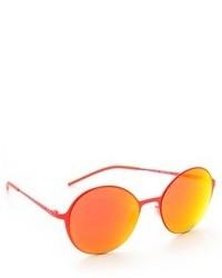 orange Sonnenbrille von Italia Independent