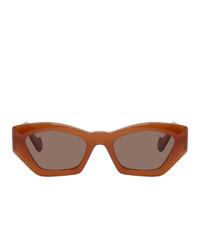 orange Sonnenbrille von Loewe