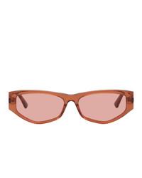 orange Sonnenbrille von McQ Alexander McQueen