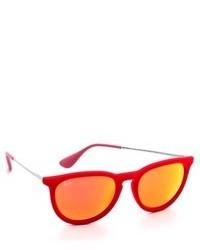 orange Sonnenbrille von Ray-Ban