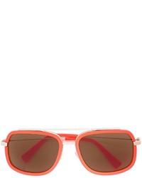orange Sonnenbrille von Versace