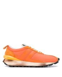 orange Sportschuhe von Lanvin