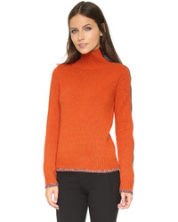 orange Strick Rollkragenpullover von Rag and Bone