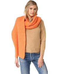 orange Strick Schal von Acne Studios