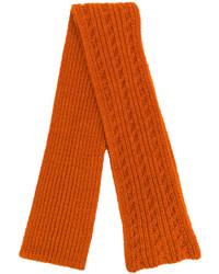 orange Strick Schal von Barena
