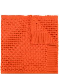 orange Strick Schal von Calvin Klein