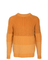 orange Strickpullover von Coohem