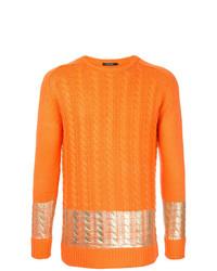 orange Strickpullover von GUILD PRIME
