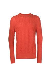 orange Strickpullover von N.Peal