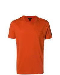 orange T-Shirt mit einem Rundhalsausschnitt von Belstaff