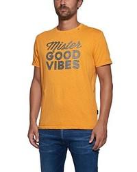 orange T-shirt von Replay