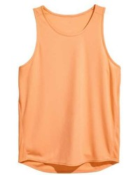 orange Trägershirt