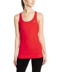 orange Trägershirt von adidas