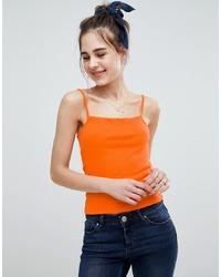 orange Trägershirt von ASOS DESIGN