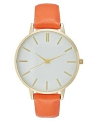 orange Uhr von New Look