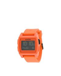 orange Uhr von Nixon