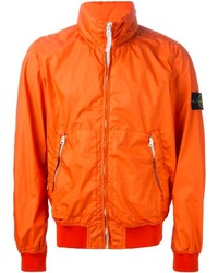 orange Windjacke