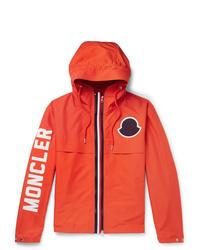 orange Windjacke von Moncler