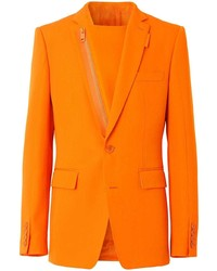 orange Wollsakko von Burberry