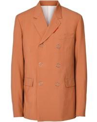 orange Wollzweireiher-sakko von Burberry