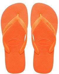 orange Zehentrenner von Havaianas