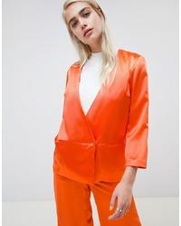 orange Zweireiher-Sakko von Moss Copenhagen