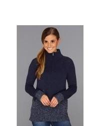 Pullover mit einem Reißverschluß