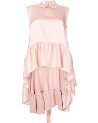 rosa ärmelloses Oberteil mit Rüschen von Fendi